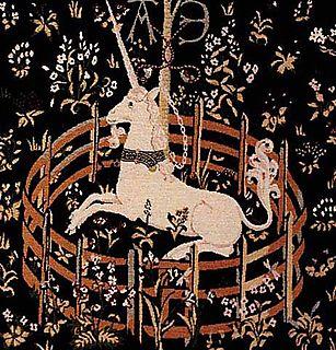 Lady and unicorn