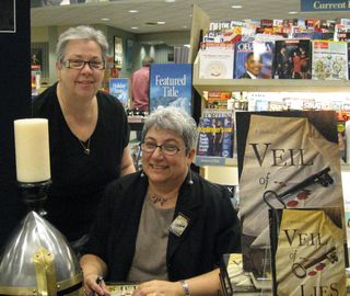 Me and Maryjo at BN